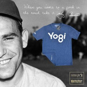 Yogi Berra Museum Baseballism T-Shirt